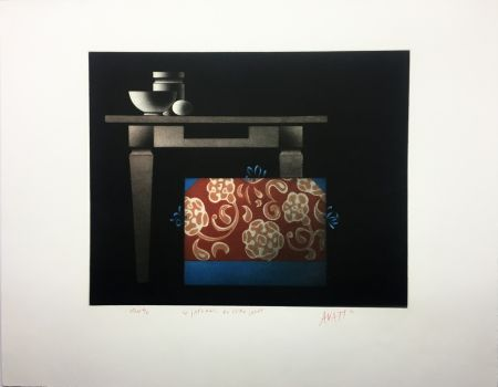 Aquatint Avati - Le Japonais du Père Sagot (1974)