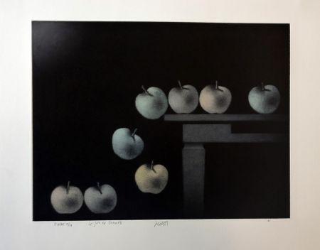 Mezzotint Avati - Le jeu de pommes