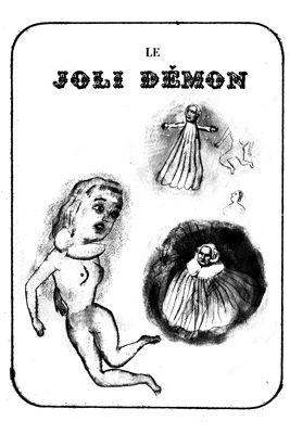 Lithograph Dutertre - Le joli démon