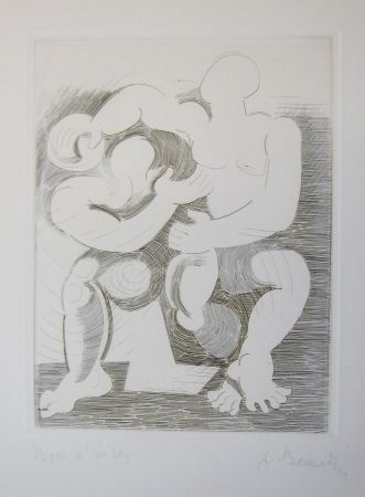 Etching Beaudin - Le Jongleur 3