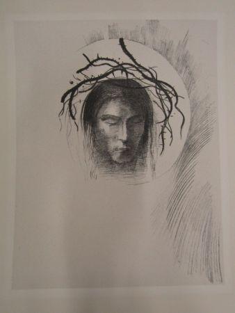 Lithograph Redon - Le jour enfin....