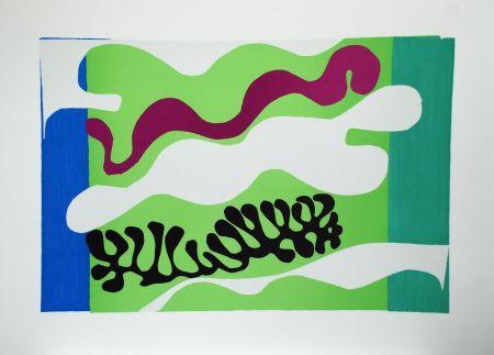 Collograph Matisse - Le Lagon II (Lagoon II)