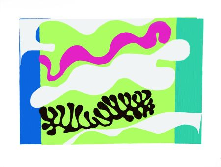 Lithograph Matisse - Le Lagon Ii (Lagoon Ii)