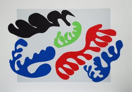 Collograph Matisse - Le Lagon III (Lagoon III)