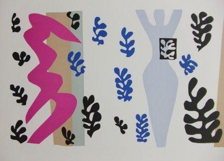 Lithograph Matisse - Le Lanceur de couteaux