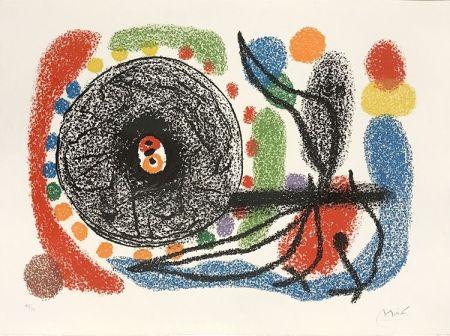 Lithograph Miró - Le Lezard aux plumes d'or (The Lizard with Golden Feathers), Pl. 10