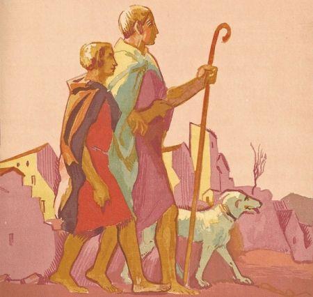 Illustrated Book Denis - Le Livre de Tobie, Traduit sur la Vulgate.Illustrations de Maurice Denis, Gravées sur bois par Jacques Beltrand