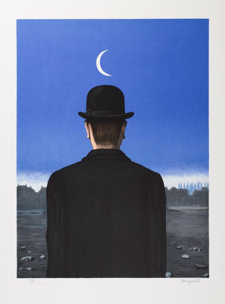 Lithograph Magritte - Le Maître d'École (The School Master)