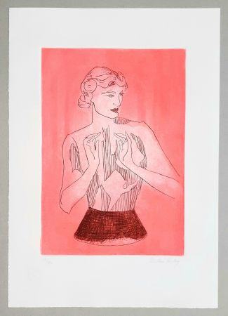 Etching And Aquatint Ray - Le mannequin