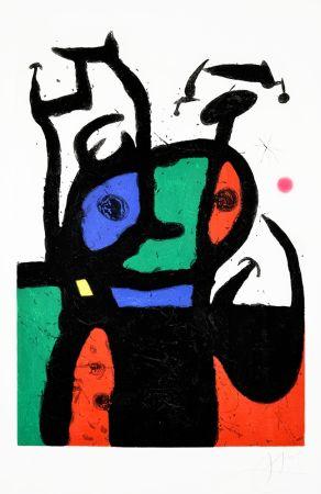 Etching And Aquatint Miró - Le Matador