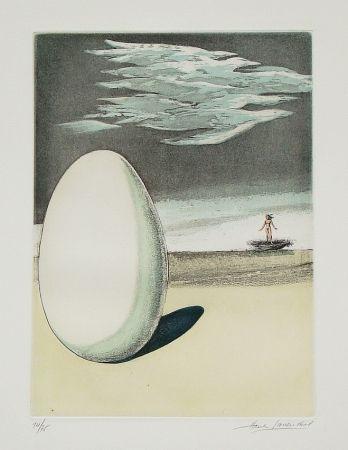 Etching And Aquatint Laventhol - Le miroir aux alouettes