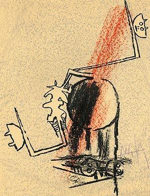Lithograph Lam - Le Monde de l'art...