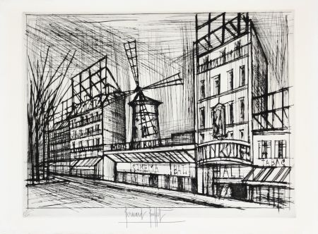 Drypoint Buffet - Le Moulin Rouge