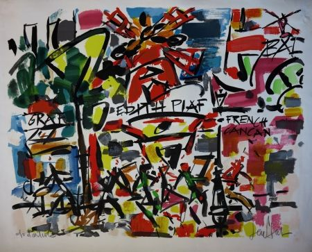 Lithograph Paul  - Le Moulin Rouge / The Moulin Rouge - Paris