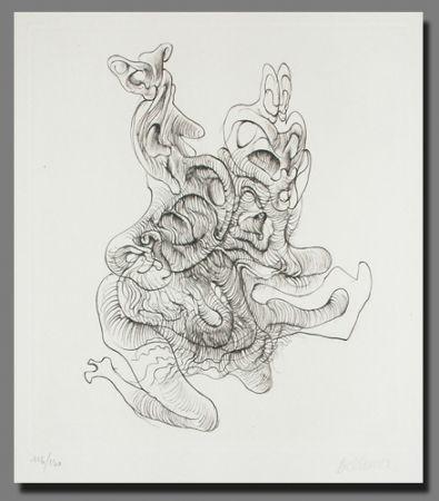 Lithograph Bellmer - Le mystère du confessionnel