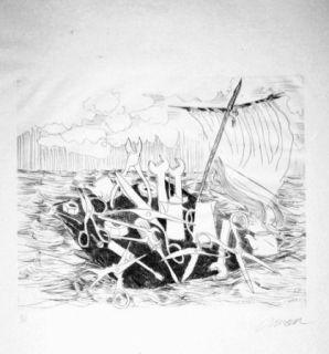 Illustrated Book Arman - Le naufrage de Méduse