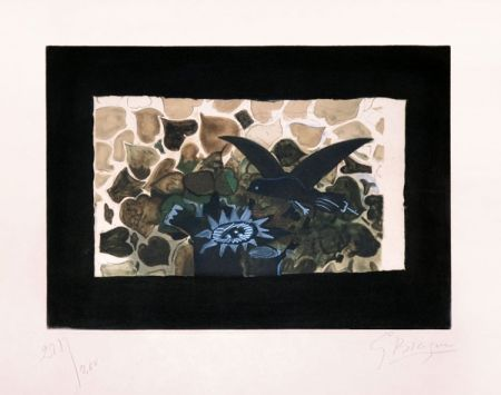 Etching Braque - Le nid vert (The Green Nest)