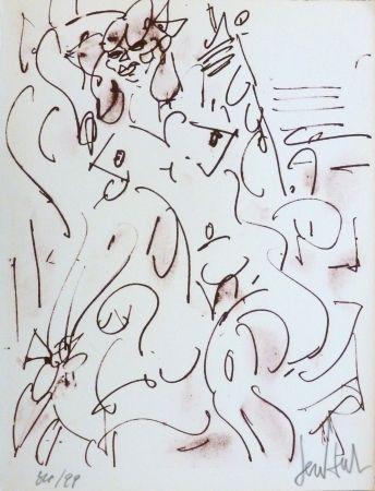 Lithograph Paul  - Le nu assis