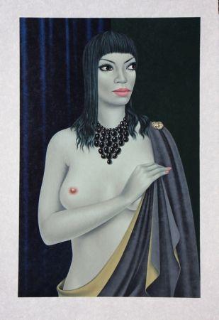 Lithograph Labisse - Le Nu avec le Cap - Nude with a Cape