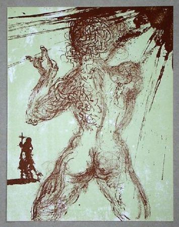 Lithograph Dali - Le Pécheur