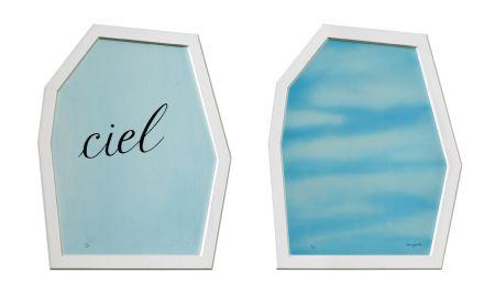 Lithograph Magritte - Le Palais des Rideaux