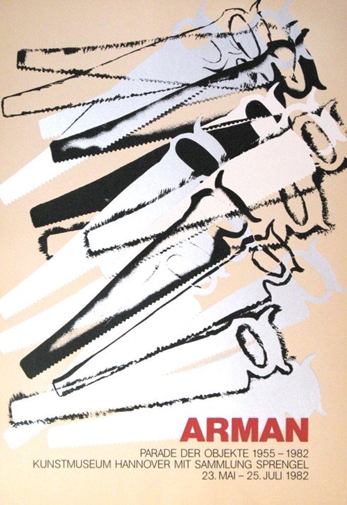 Screenprint Arman - '' Le Parade des Objets ''