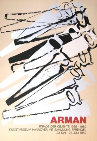 Screenprint Arman - '' Le Parade des Objets ''