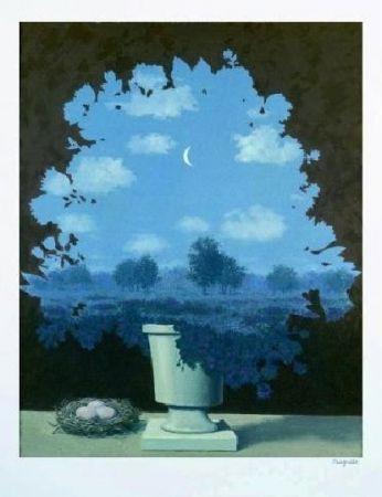 Lithograph Magritte - Le pays des miracles, 1964