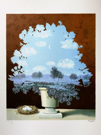 Lithograph Magritte - Le Pays des Miracles (The Country of Marvels)