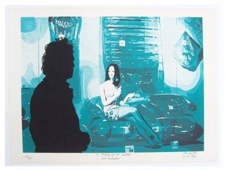 Lithograph Fromanger - Le peintre et le modèle