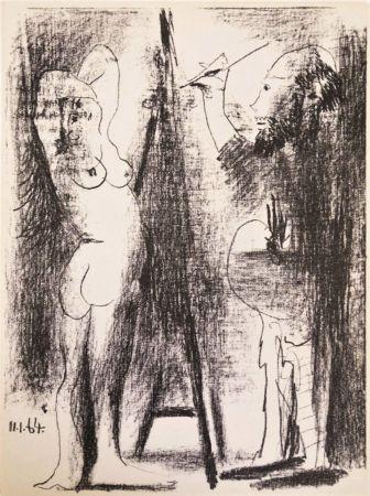 Lithograph Picasso - Le Peintre et Son Modèle