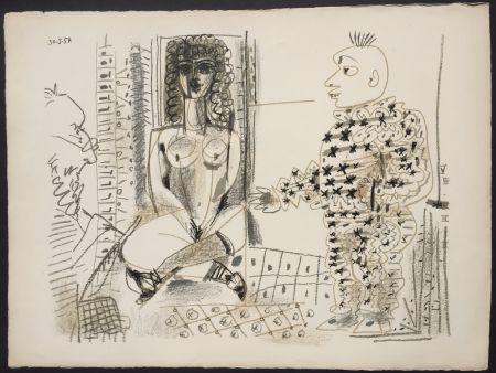 Lithograph Picasso - Le Peintre et son Modele (B 765)