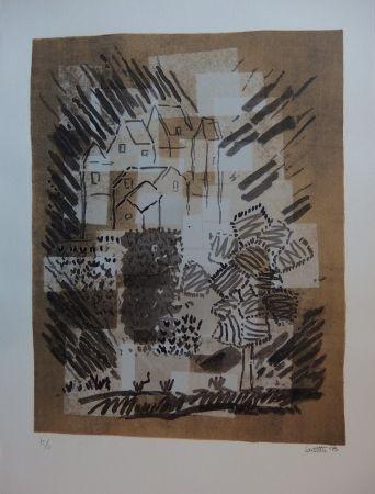 Lithograph Louttre - Le petit pays