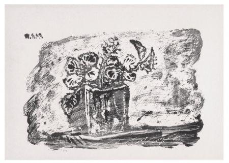 Lithograph Picasso - Le Petit Pot de Fleurs