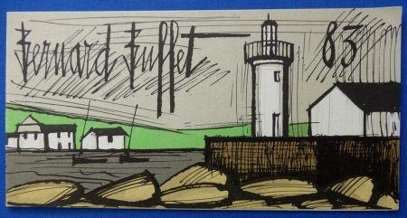 Lithograph Buffet - Le phare