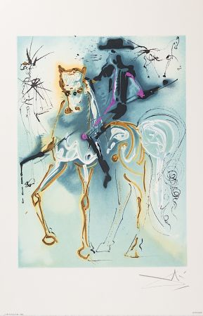 Lithograph Dali - Le Picador