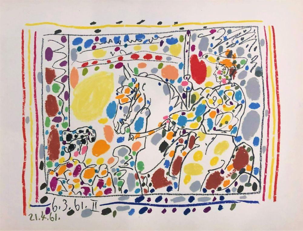 Lithograph Picasso - Le Picador II