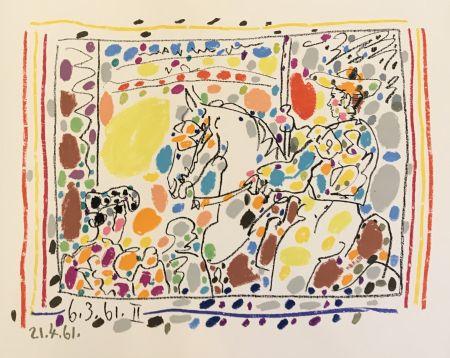 Lithograph Picasso - Le Picador II (B.1017)