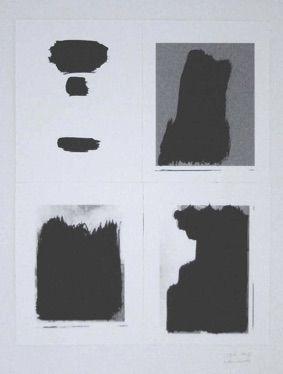 Screenprint Buraglio - Le Plaisir de peindre