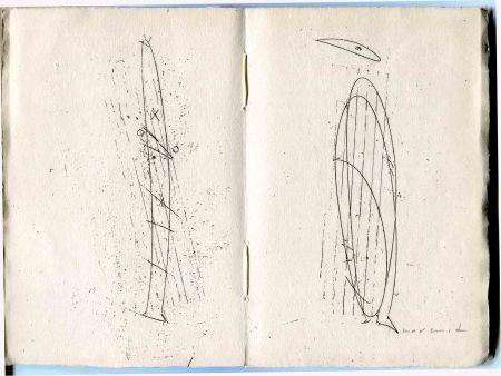 Engraving Ernst - Le Poème de la femme 100 têtes.