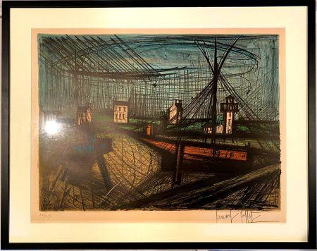 Lithograph Buffet - Le port