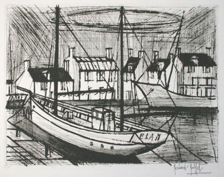 Engraving Buffet - Le port
