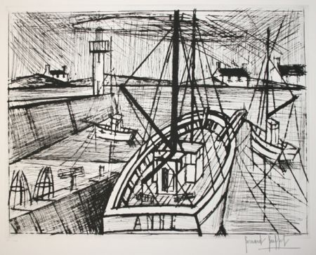 Etching Buffet - Le port 2