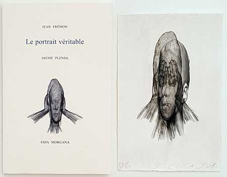 Illustrated Book Plensa - Le portrait véritable