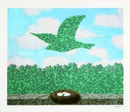 Lithograph Magritte - Le printemps, 1965