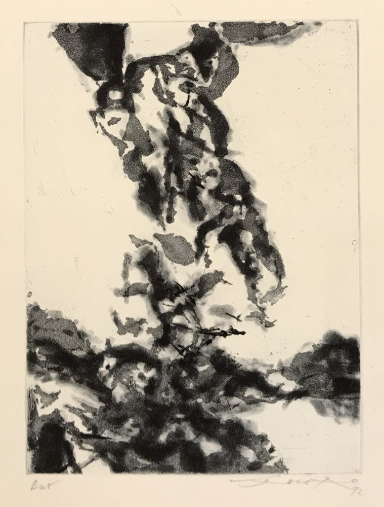 Etching And Aquatint Zao - Le Prophete (356)