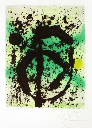 Aquatint Miró - Le Règne Végétal (1968)