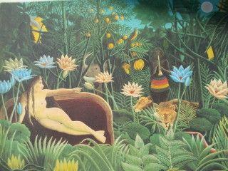 Lithograph Rousseau - Le réve