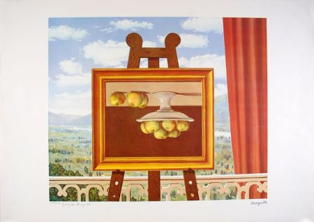 Lithograph Magritte - Le Réveil Matin - The Morning Alarm Clock