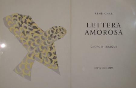 Lithograph Braque - Le Rapace / L'Iris